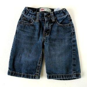 Boys Levi's Regular 505 Long Jean Shorts